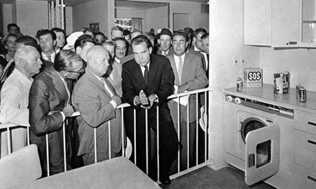 "Nixon-Khruschev ""kitchen debate"" July 24, 1959"