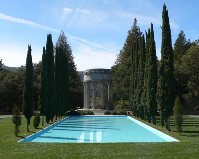 photo of the Pulgas Water Temple, Redwood City CA